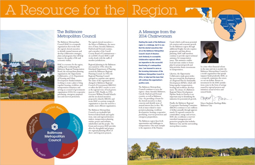 Baltimore Metropolitan Council Annual Report 2013