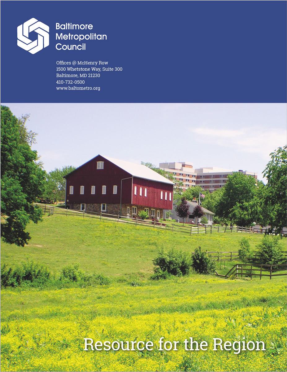 Baltimore Metropolitan Council Annual Report 2016