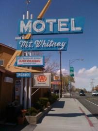 Motel Mt Whitney
