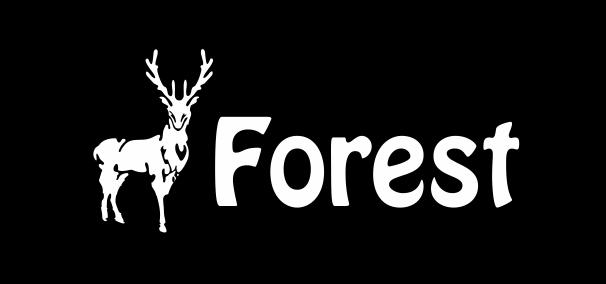 Лого лес