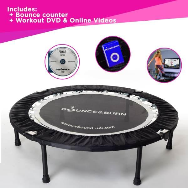JDK Fitness - Bounce and Burn Mini Trampoline