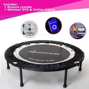 JDK Fitness - Bounce and Burn Mini Trampoline