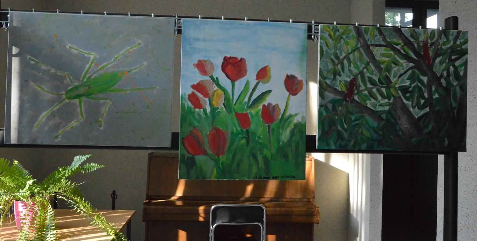 Obrazki ręcznie malowane
