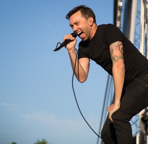 Tim Mcllrath from Rise Against