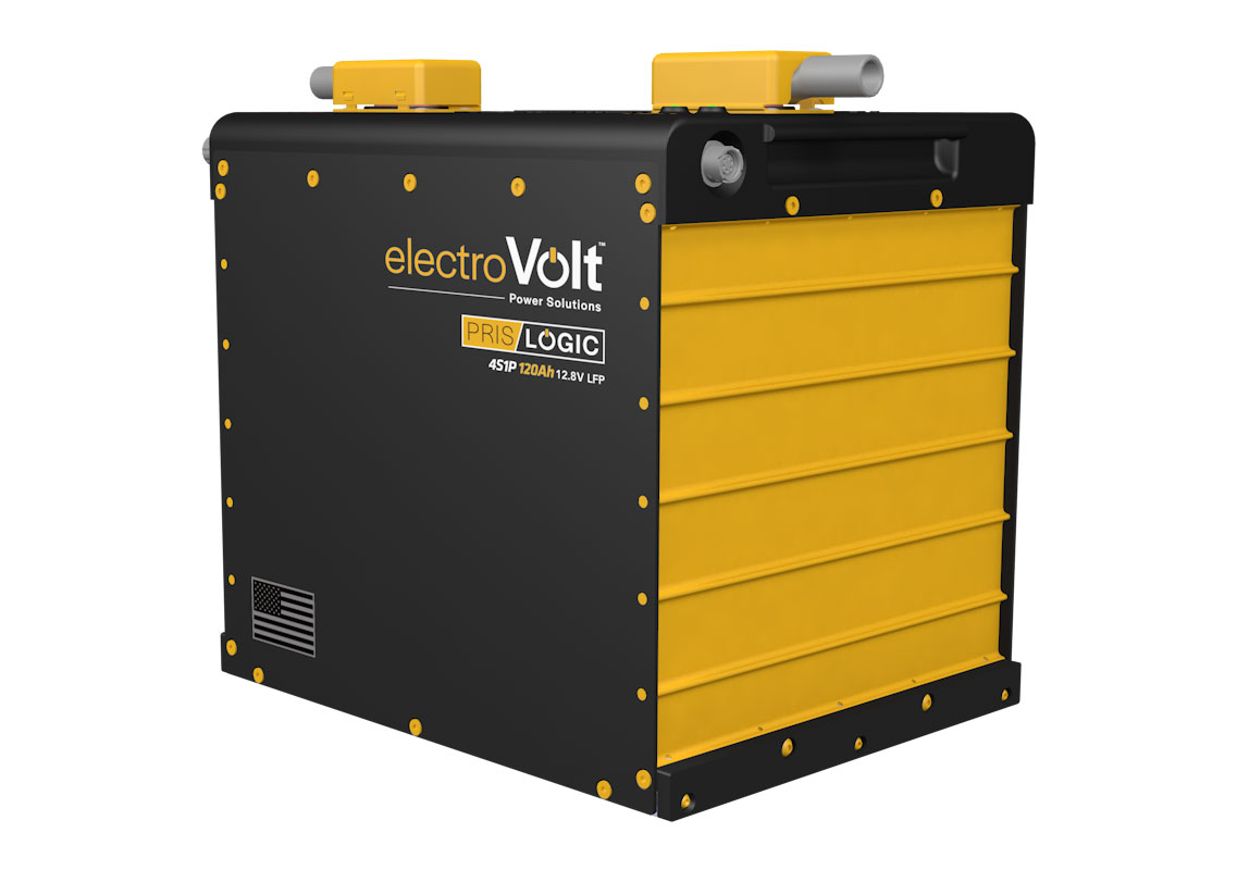 3D model concept of a commercial Li-ion battery