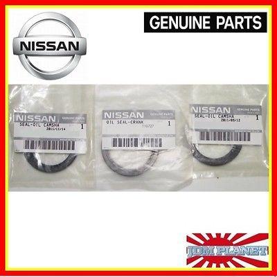 Genuine Nissan Skyline Gtr Crank Camshaft Cam Oil Seals