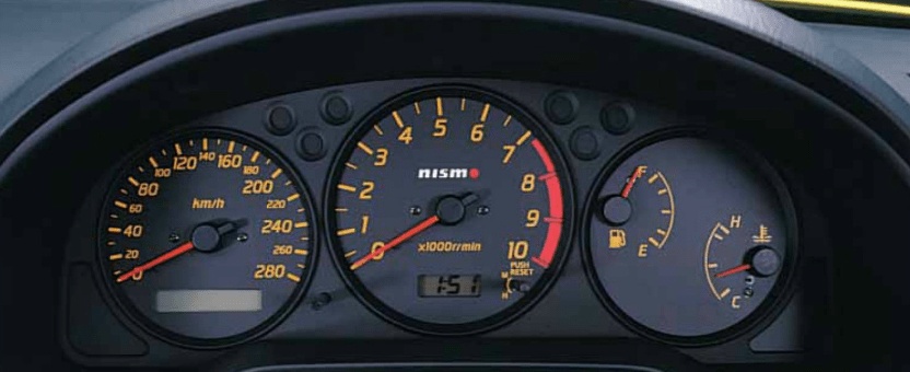 Nismo Combination Meter Nissan Silvia 200sx S15 Black Face