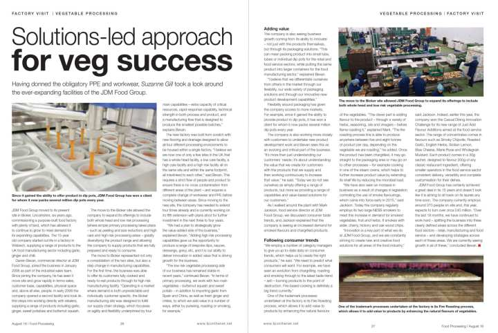 Solutions-led approach for veg success