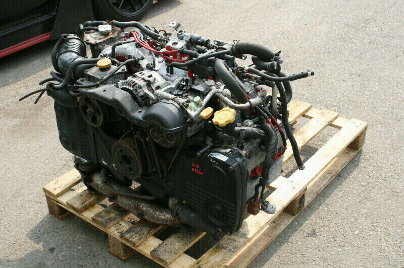 jdm subaru gc8 wrx sti (v-6) ej207 longblock engine vf28