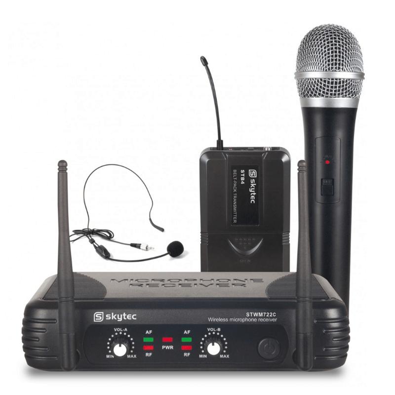 Trådlöst mikrofonpaket