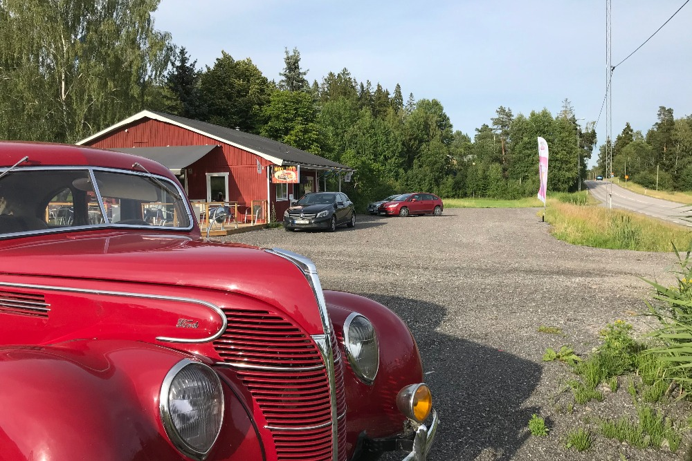 Hot Rod Cafe i Vallentuna