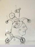 066.  A MIND WANDERING MACHINE - A Prayer Machine by JAMES PATERSON  (SOLD)