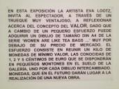 "Eva Lootz ""Brotes Verdes"""