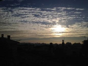 Morningsun in January...