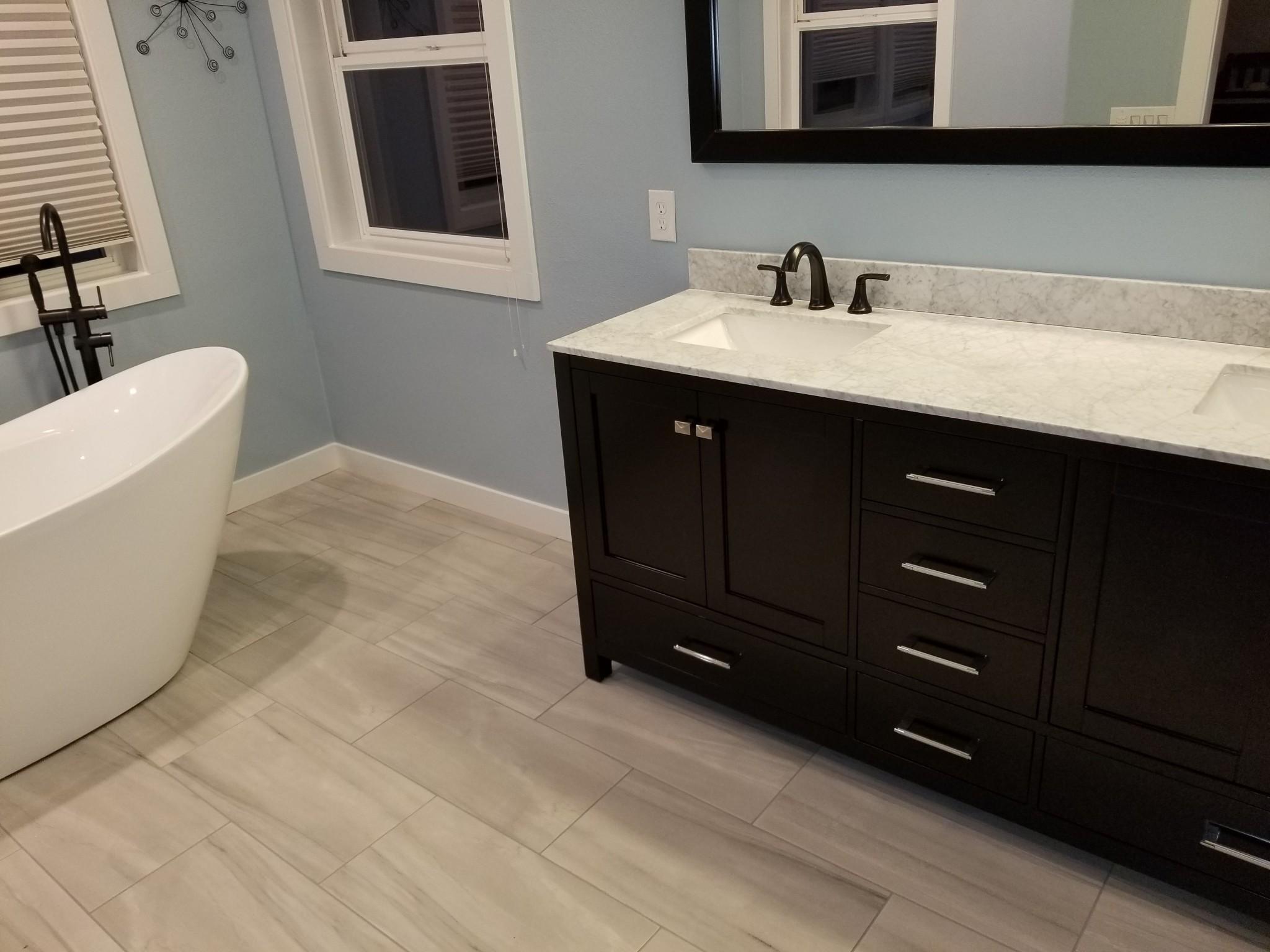 JBE Custom Built Homes Bathroom Remodel