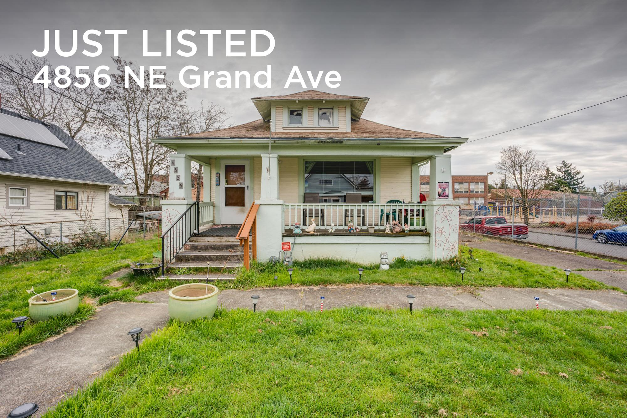 Open House 4856 NE Grand Ave Portland, OR JDPDXRealEstate