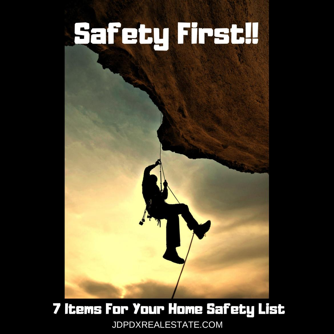 Home Safety List