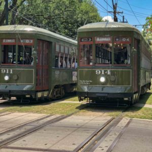St Charles Avenue Streetcar New Orleans