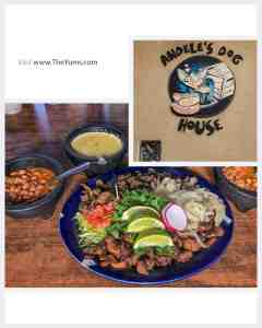 Authentic Mexican at Andele's Dog House