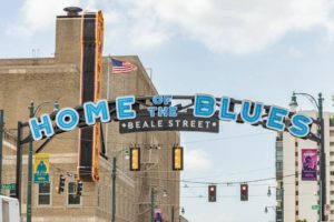 Walking in Memphis Home of the Blues