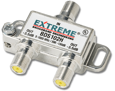 How to find the right coax cable digital splitter