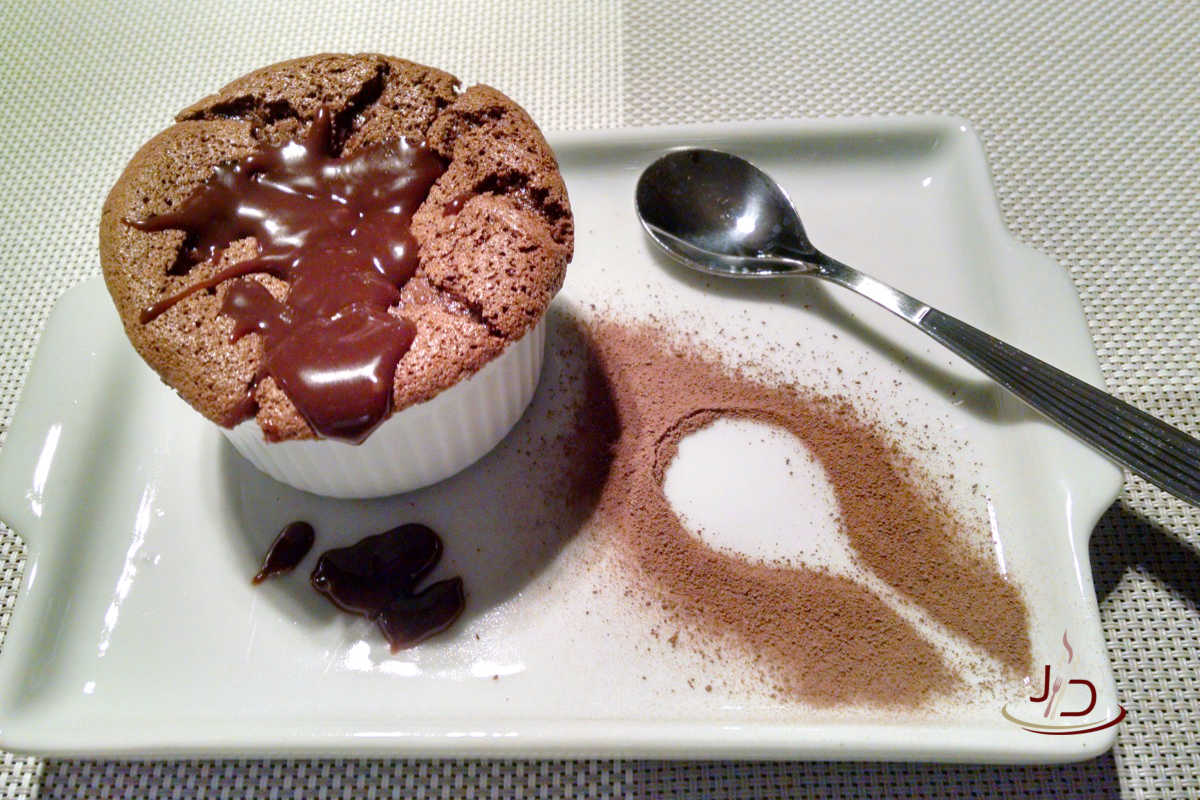 Suflê de Chocolate da Rita Lobo
