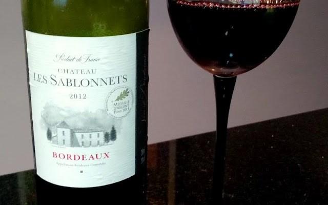 Vinho Bordeaux: Chateau Les Sablonnets 2012