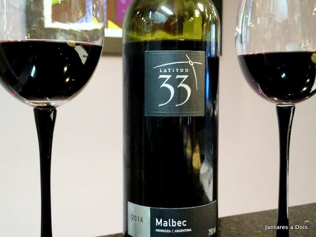 Vinho Latitud 33 Malbec