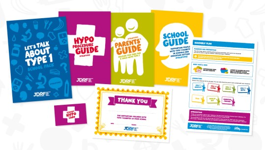 JDRF Type 1 Diabetes School Pack