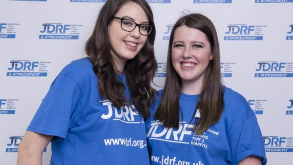JDRF Westminster Palace reception.  Lydia Parkhurst and Ellie Huckle.  Copyright John Nguyen/JNVisuals 25/04//2016