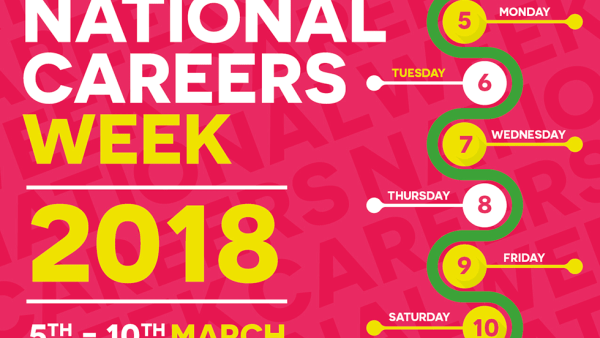 National Careers Week 2018 logo