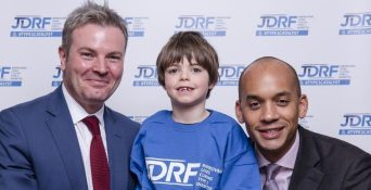 Event host Jamie Reed MP and Chuka Umunna MP