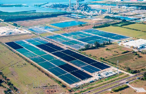 Big Bend solar energy installation Industrial project