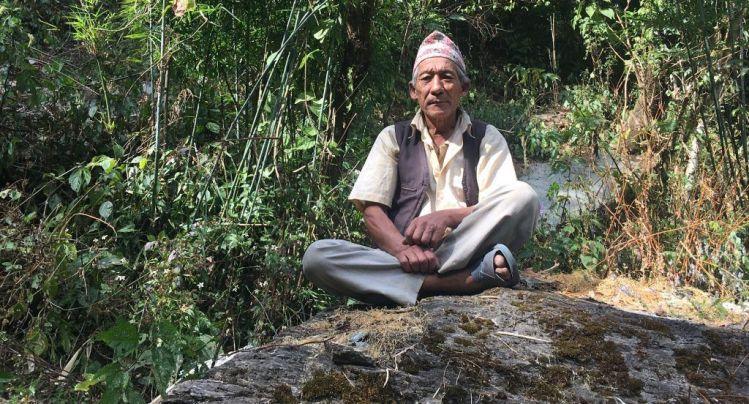 Anciano en Jinu