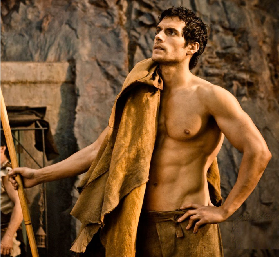 Henry Cavill in Immortals and the new Man of Steel (2/4)