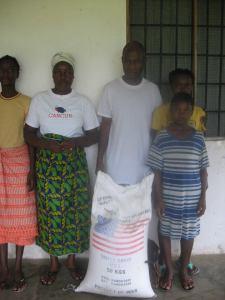 Pastor Daniel family Liberia