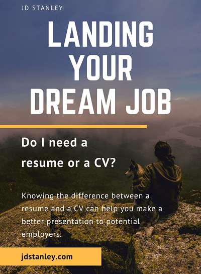 Do I need a resume or a CV