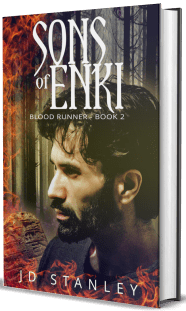 Sons of Enki, Blood Runner Book 2