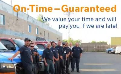 On-time-guaranteed