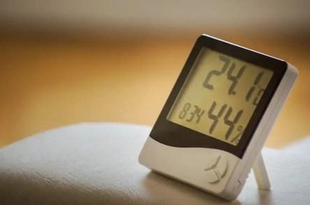 home humidity display measurement device