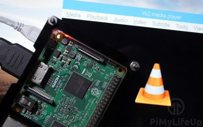 Using a Raspberry Pi and VLC as a streaming music server for home or office