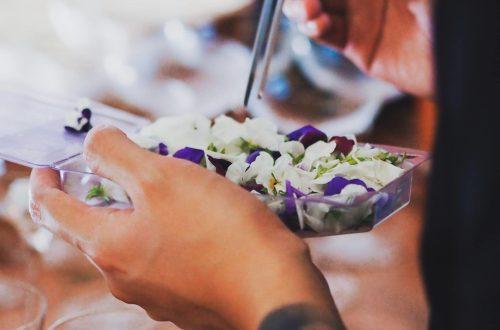 manger des fleurs