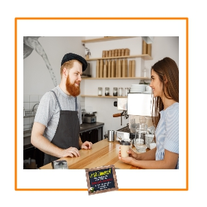 Amour fidèle entre un commerçant et sa cliente