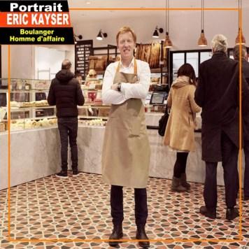 Eric Kayser dans une boulangerie