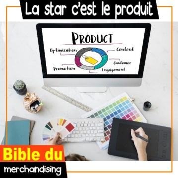 merchandising marchandisage le produit