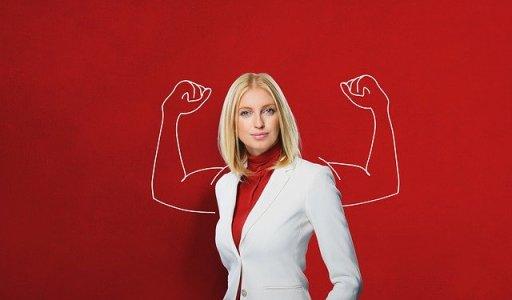 Femme forte face à l'échec