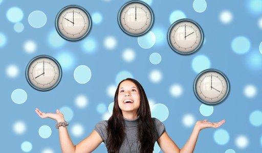 Rentrée zen jongler avec le temps