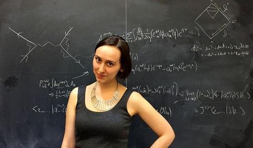 Sabrina Gonzalez Pasterski, nouvelle Einstein ? Photo Wikimedia commons - Author Cambridge02138