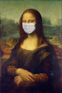 Confinement -  Mona Lisa masquée