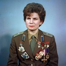 Photo de Valentina Tereshkova, cosmonaute russe, première femme dans l'espace.